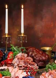 bigstockphoto_Group_Of_Meat_On_Holiday_Table_1152564[1]