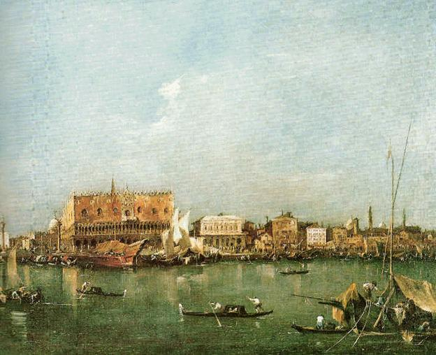 Francesco Guardi's Venice Viewed from the Bacino