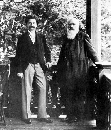 Johann Strauss, Jr. and Brahms