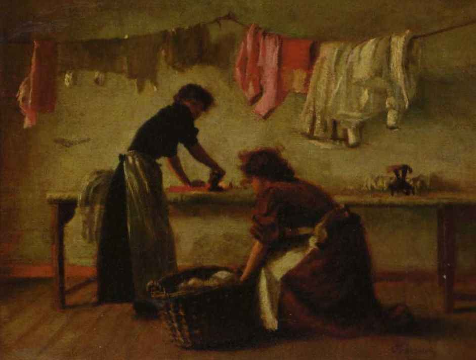 Ironing Day, Jane Barrow (1897)