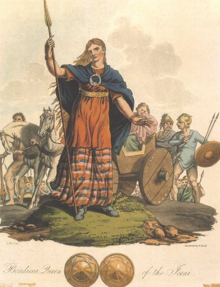 Boadicea (also known as Boudicca), Queen of Iceni
