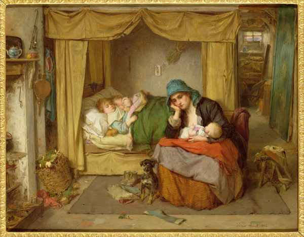 The End of a Happy Day, Thomas Faed