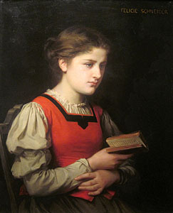 The Reader, Felicie (Fournier) Schneider (1831-1888)