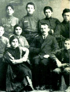 Eugenia Ginzburg (second row, second from left) at the Tartarstan Communist University