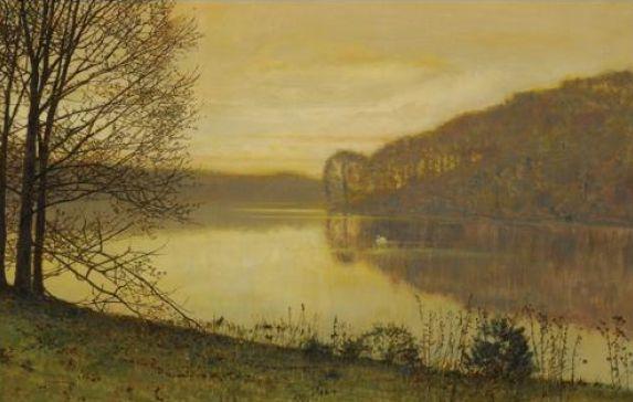 Roundhay Lake, John Atkinson Grimshaw