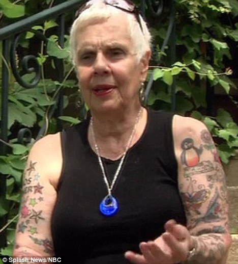 The empowered grandmother the thinking housewife for Tattoos for older adults