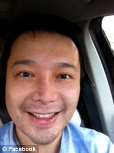Dr.Louis Chen, charged with stabbing his homosexual lover 100 times and killing his two-year-old son