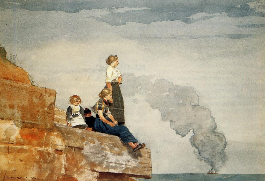 Fisherman's Family, Winslow Homer (1881)