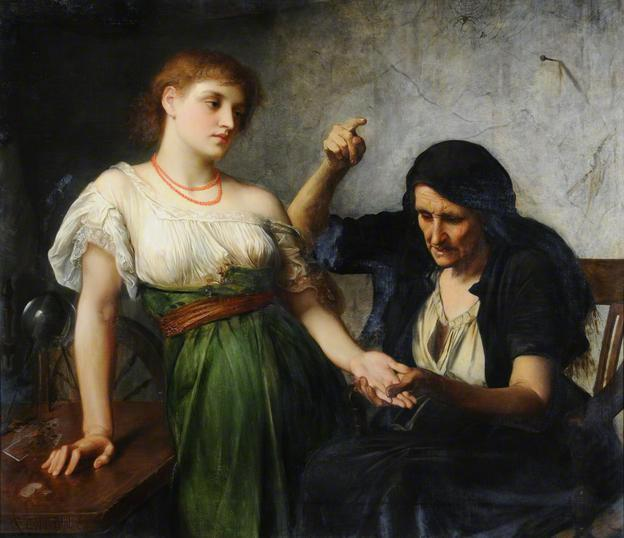 The Fortune Teller, Charles Edward Halle
