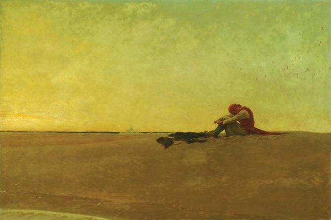 Marooned, Howard Pyle (Courtesy of Delaware Art Museum)