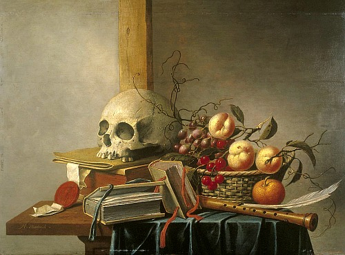 Vanitas Still Life, Unknown Artist; 1620