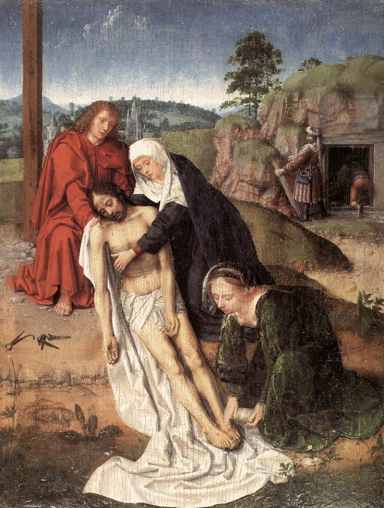 The Lamentation, Girard David