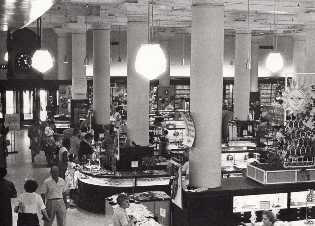 The Stix Baer and Fuller Department Store in St. Louis in 1959