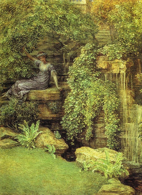 The Princess and The Frog, By Sir Edward Poynter