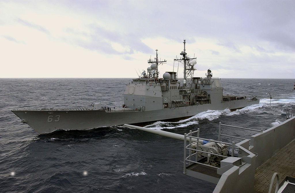Uss Cowpens Collision Strange Events on the ...