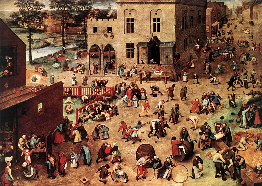 Children's Games, Pieter Bruegel the Elder; 1559-60