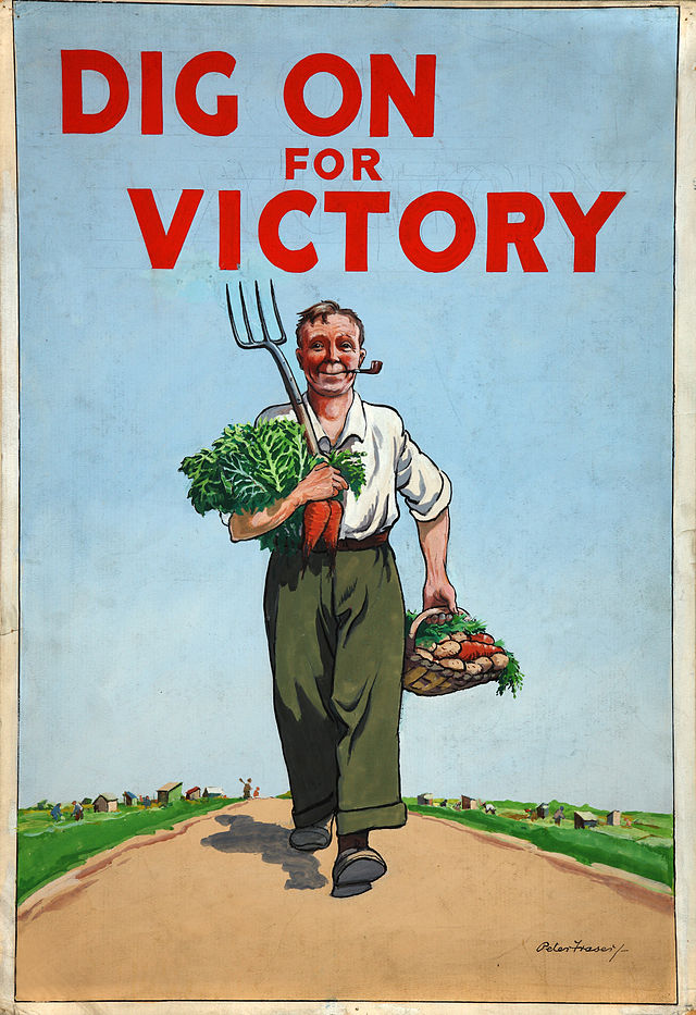 INF3-96_Food_Production_Dig_for_Victory_Artist_Peter_Fraser