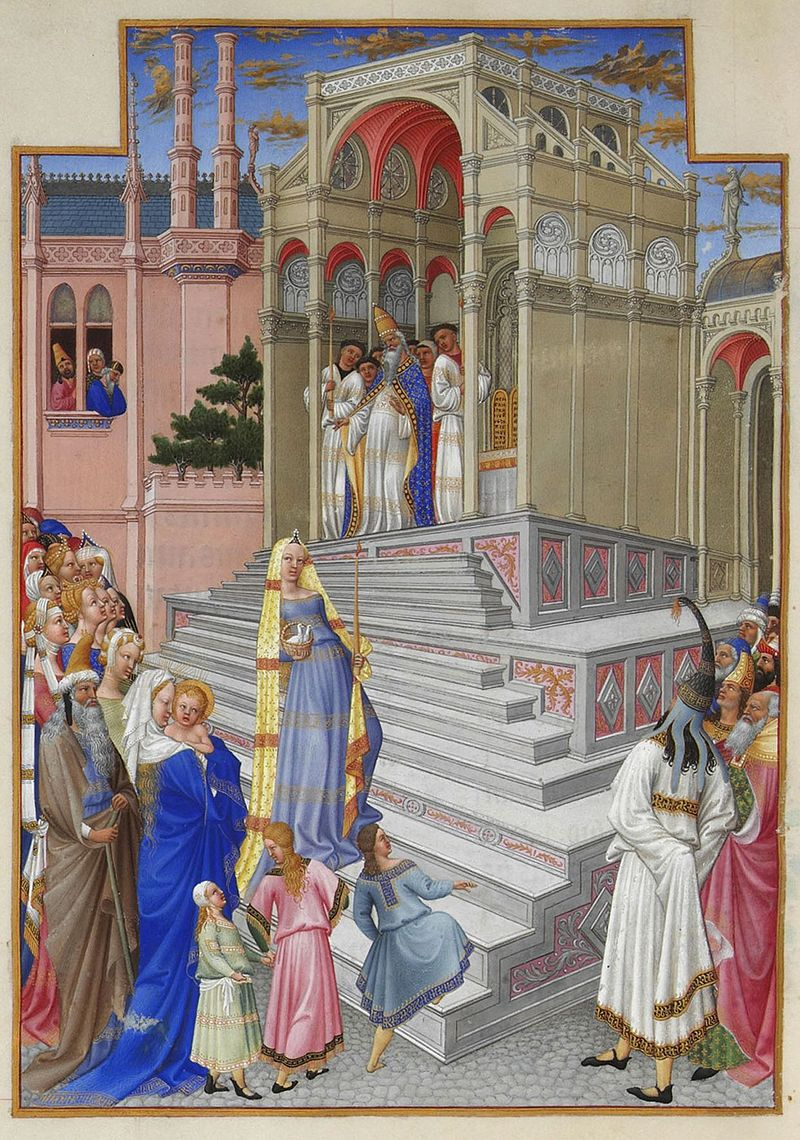 800px-Folio_54v_-_The_Purification_of_the_Virgin