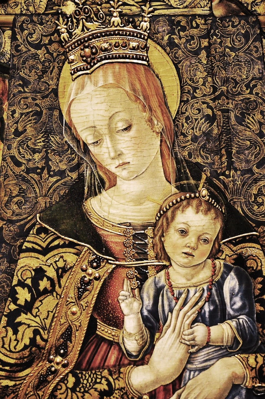 madonna and child with angels parmigianino - photo #16