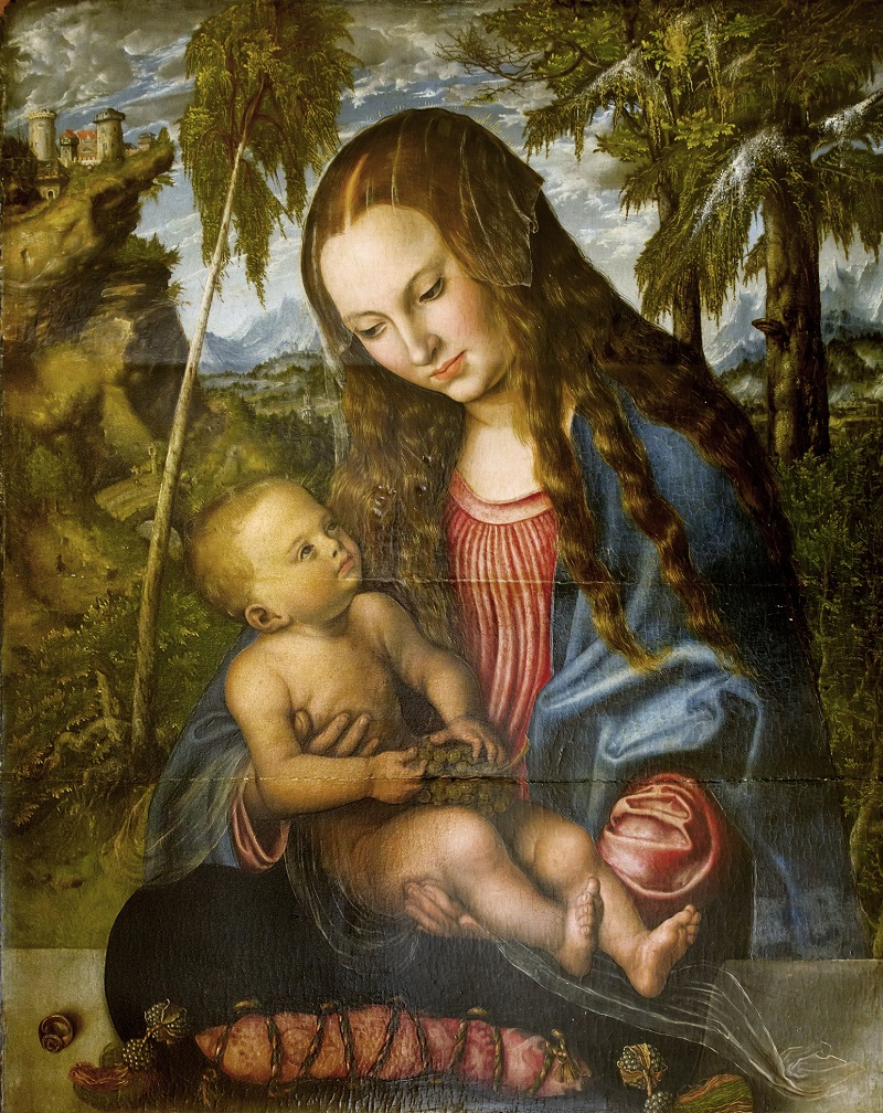 lucas-cranach-madonna-under-the-fir-trees-1510
