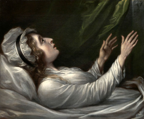 Sarah Trumbull on her Deathbed, 1824
