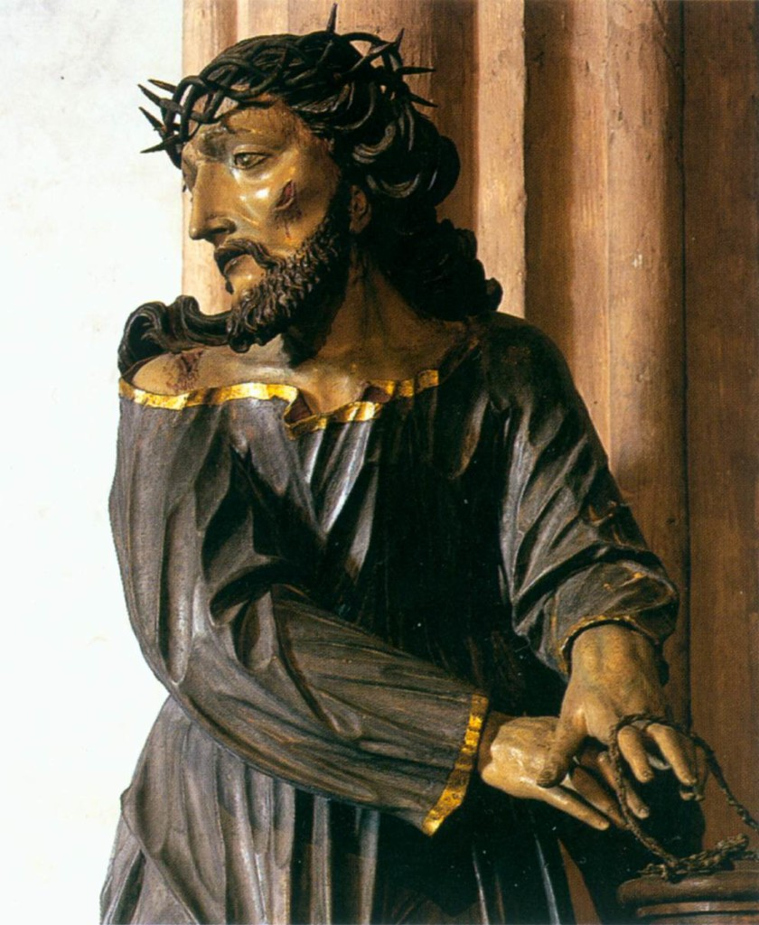 Christ with Crown of Thorns, Johann Meinrad Guggenbichler; 1682